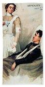 Nurse: Calendar, 1899 Bath Towel