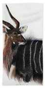 Nyala Bull Bath Towel