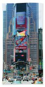 New York City Times Square Bath Towel