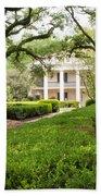 New Orleans Oak Alley Plantation Bath Towel