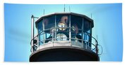 Oak Island Lighthouse Beacon Lights Bath Towel