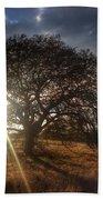 Oak Tree At The Plateau Bath Towel