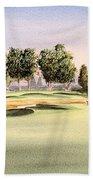 Oakmont Golf Course 14th Bath Towel