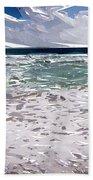 Ocean Abstract Bath Towel