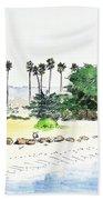 Ocean Beach Bath Towel