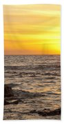Ocean Sunset Bath Towel