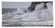 Ocean Surge At Gulliver's Hand Towel