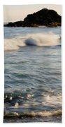 Ocean Waves Bath Towel