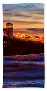 Oceanside Sunset IIi Bath Towel