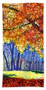 October Surprise Bath Towel