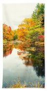 Octobers Paintbrush Bath Towel