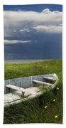 Of Land Sea And Sky Bath Towel