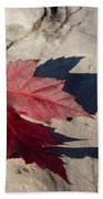 Oh Canada Maple Leaf Bath Towel