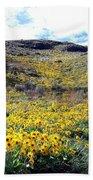 Okanagan Valley Sunflowers 1 Bath Towel