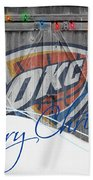 Oklahoma City Thunder Bath Towel