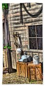 Old Bait Shop And Antiques Bath Towel