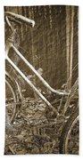 Old Bikes Bath Towel