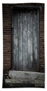 Old Blacksmith Shop Door Bath Towel
