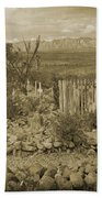 Old Boothill Cemetery Bath Towel