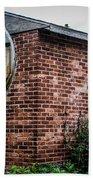 Old Brick Building Bath Towel