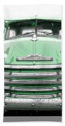 Old Chevy Pickup Truck Bath Towel