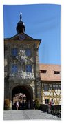 Old City Hall - Bamberg Bath Towel