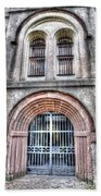 Old City Jail Entrance Bath Towel