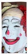 Old Clown Backstage Bath Towel