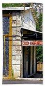 Old Corner Bar - Dayton - Nevada Bath Towel