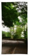 Old Country Road - Peak District - England Bath Towel