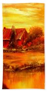 Old Dutch Farm Bath Towel