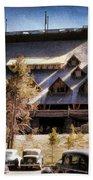 Old Faithful Inn Yellowstone  Bath Towel