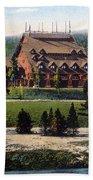 Old Faithful Inn Yellowstone Np 1928 Bath Towel