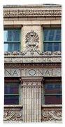 Old First National Bank - Building - Omaha Bath Towel