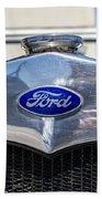 Old Ford Bath Towel