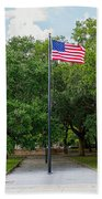Old Glory High And Proud Bath Towel