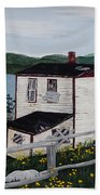 Old House - If Walls Could Talk Hand Towel