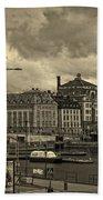 Old In Memory But Modern Copenhagen Bath Towel