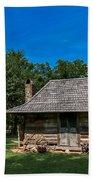 Old Log Cabin Three Bath Towel