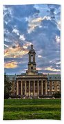 Old Main At Sunset Bath Towel