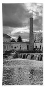 Old Mill And Banquet Hall Bath Towel
