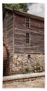 Old Mill At Forbidden Caverns Bath Towel