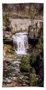 Old Mill On The Credit Bath Towel