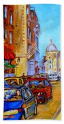 Old Montreal Hand Towel