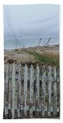 Old Nantucket Fence Bath Towel