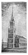 Old North Church, 1775 Bath Towel
