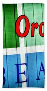 Old Orchard Beach Bath Towel
