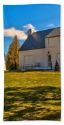 Old Presque Isle Lighthouse Bath Towel