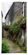 Old Quarter Of La Roche Bernard Bath Towel