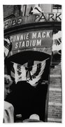 Old Shibe Park - Connie Mack Stadium Bath Towel